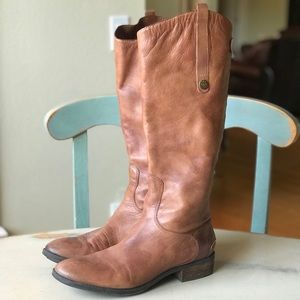 Sam Edelman Brown Leather Riding Boots Size 9